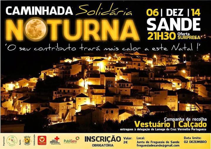 Caminhada Noturna Solidária - Sande - 6 de dezembro