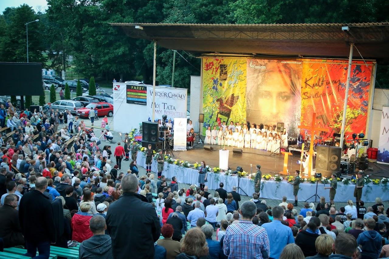Program Wieczoru Chwały w amfiteatrze (23.06.2018)