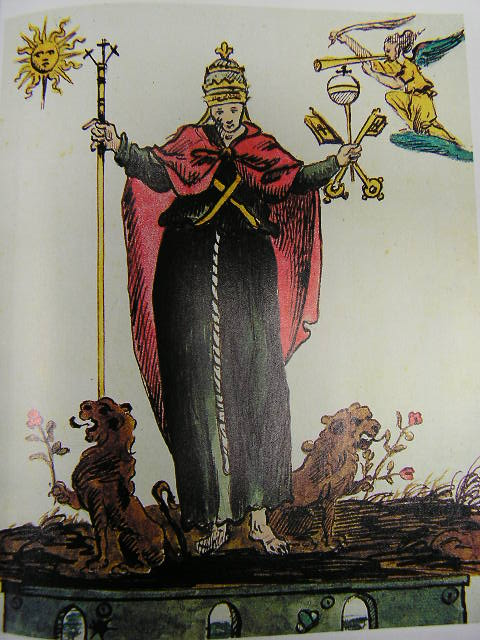 Nostradamus Book 1689 Illustration Part Three, Nostradamus
