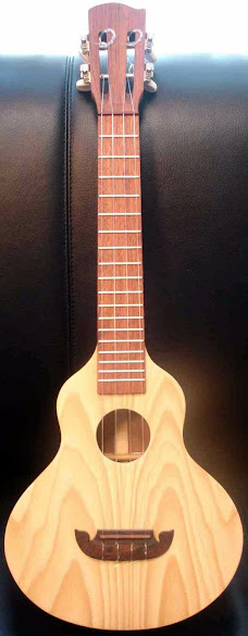 Thai road side luthier made tenor Ukulele