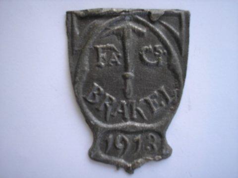 Naam: BrakelPlaats: HaarlemJaartal: 1913