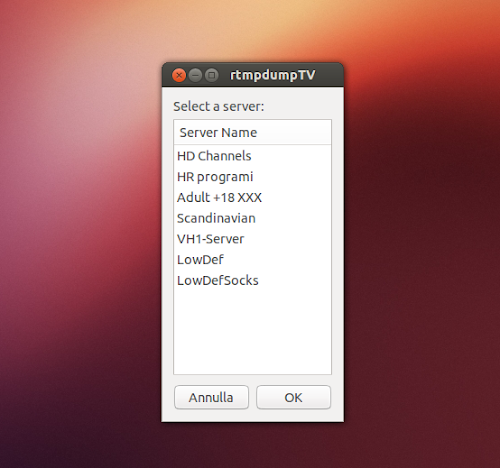 rtmpdumpTV HDTV