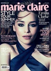 Emilia-Clarke---Marie-Claire-UK-Cover-2015--01-662x914