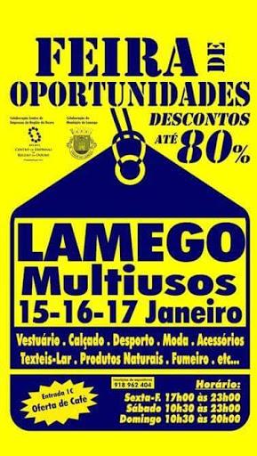 Feira de Oportunidades - Lamego - 15 a 17 de Janeiro de 2016