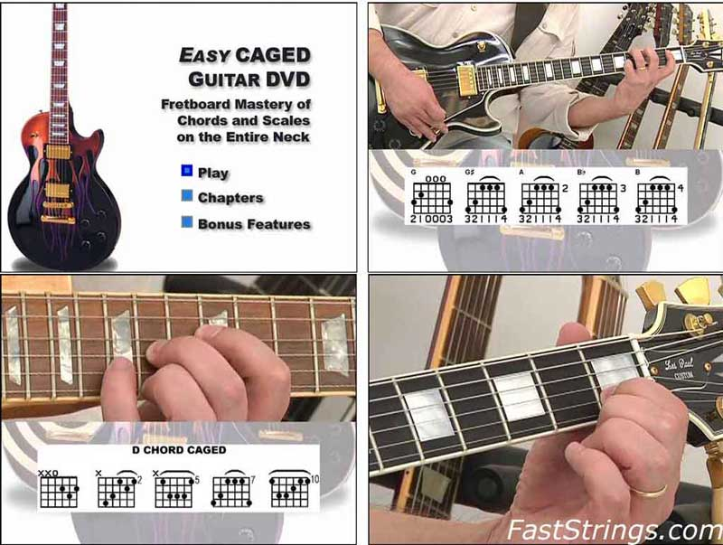 Mark John Sternal - Easy CAGED Guitar