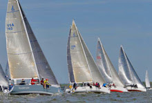 J/109s sailing Annapolis NOOD Regatta
