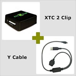 XTC 2 Clip with Y Cable - S-OFF and S-ON, unlock, repair IMEI / CID / MEID on HTC mobile phones.