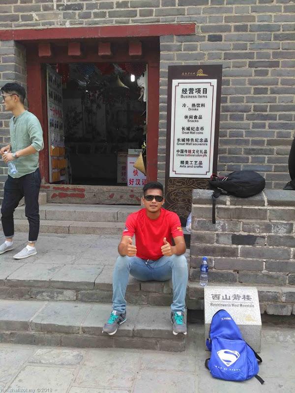 tembok besar china di beijing