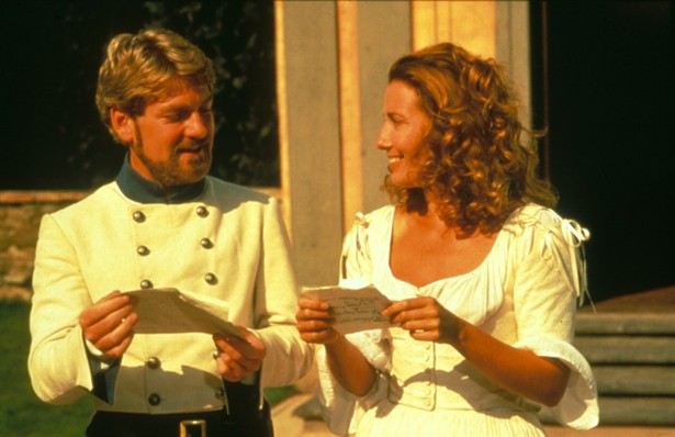 Kenneth Branagh e Emma Thompson