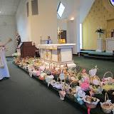 Błogoslawienie pokarmów w kościele MOQ, Norcross. Ks. Piotr Nowacki. zdjęcia E. Gürtler-Krawczyńska - 019.jpg