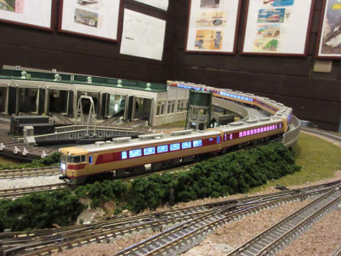 鉄道喫茶・居酒屋「ぽぷら」 鉄道模型レイアウト その6
