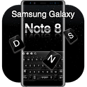 Keyboard for Galaxy note8 icon