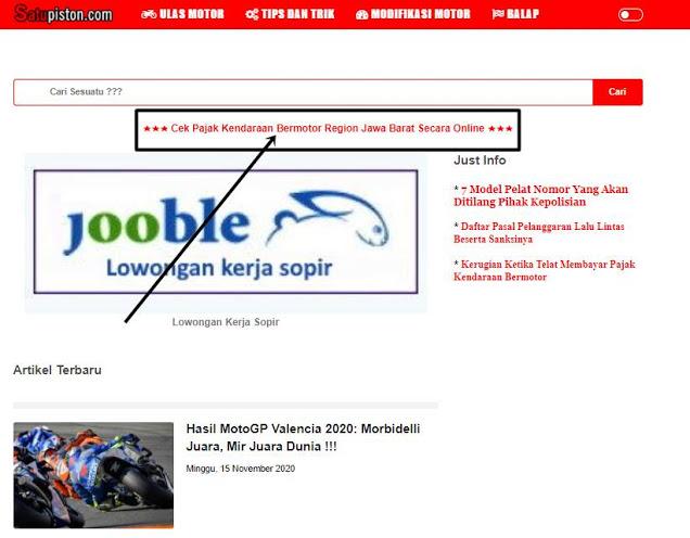 Cek BPKB Online Jabar, Begini Caranya !!!