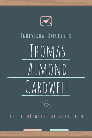 Individual Report - TACardwell