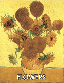 Vincent van Gogh Flower Paintings
