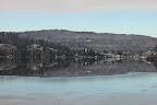 LE LAC ENDORMI?Lac de Joux (Suisse, VD) dans la vallée de l'Orbe