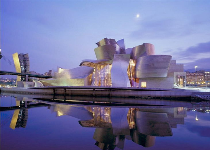 The Guggenheim Museum [Bilbao, Spain]