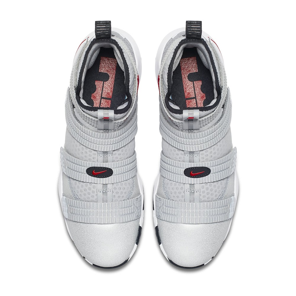 fa19f50ddc48 ... Release Reminder Nike LeBron Soldier 11 Silver Bullet ...