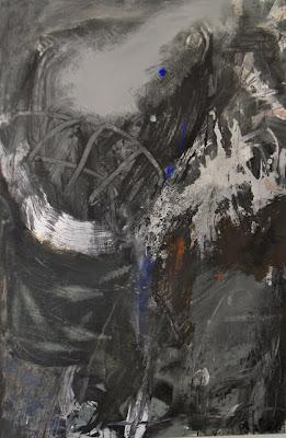 Point bleu, 1999 150 x 100 cm, t.m. sur toile