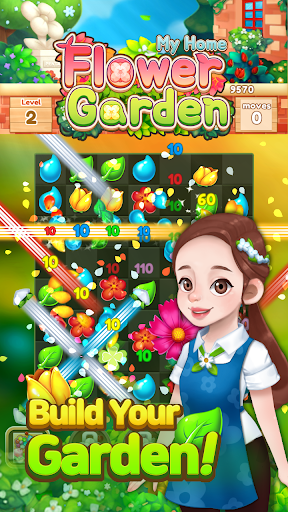 My Home Flower Garden: Puzzle Master 1.3.4 screenshots 1