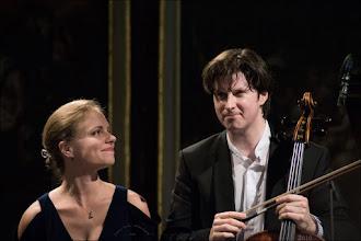 Photo: Julia Fischer (Violine) und Daniel Müller-Schott (Cello) im Konzert Fotogalerie: https://goo.gl/01JpqY