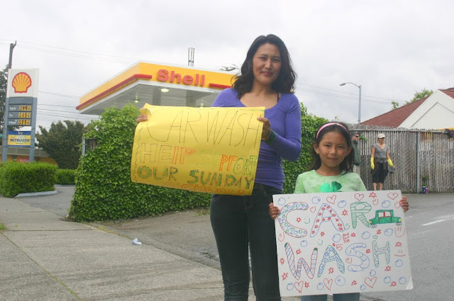 Tibetan Sunday School: Car Wash Fundraiser - IMG_4313.JPG