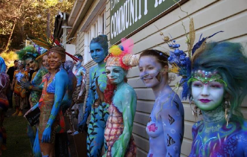 Australian Body Art Carnivale 2013   Sunshine Coast
