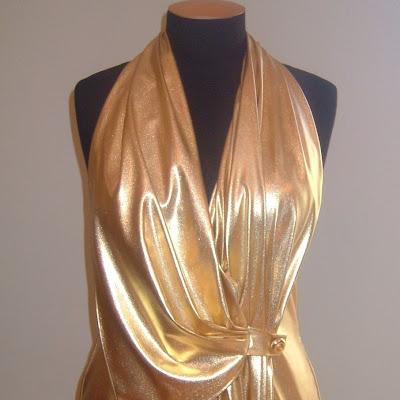 Maitua - Front drape detail