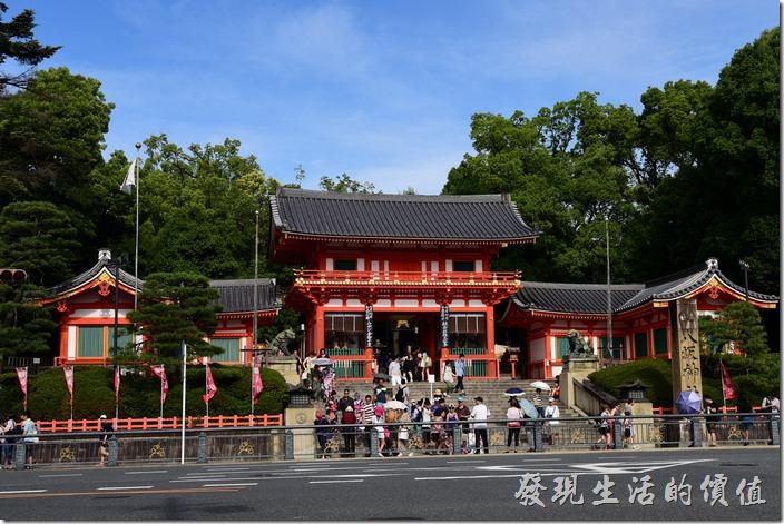 二訪日本京都紅屋黑瓦的「八坂神社」