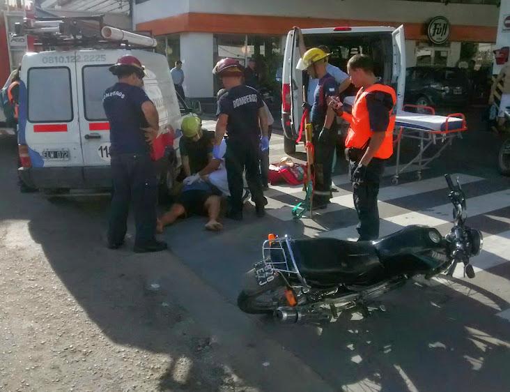 Más choques de la semana: En YPF, en Ruta 6 y en Irigoyen y Solanet