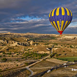 Cappadocia seen from the balloon