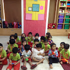 Square Day Celebrated by Nursery at Witty World (2015-16)