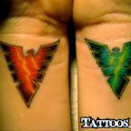 re green jean grey xmen - tattoos for men