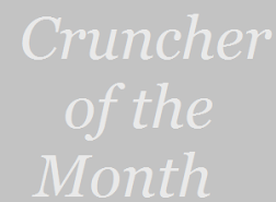 Cruncher Of The Month