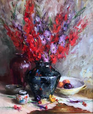 """Gladiola Bouquet"""