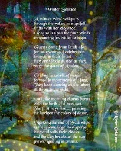 An Elemental Blessing For Yule