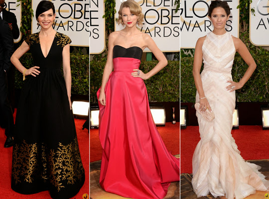 looks golden globes 2014