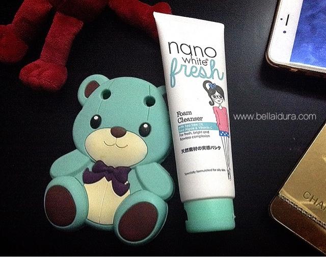 nanowhite fresh, pencuci muka terbaik