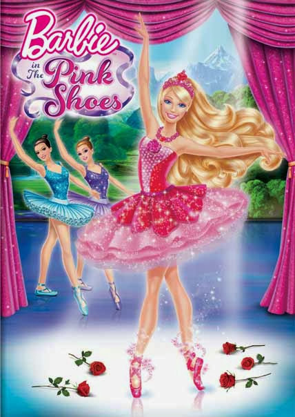 Poster Of English Movie Barbie in the Pink Shoes (2013) Free Download Full New Hollywood Movie Watch Online At alldownloads4u.com