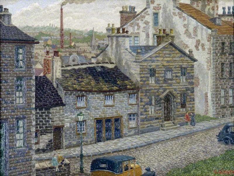 Charles Ginner - Lancaster from Castle Hill Terrace