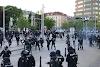 تحول الحي 16 في فيينا الى ساحة مواجهات بين الشرطة النمساوية ومتظاهرين في يوم التحرير