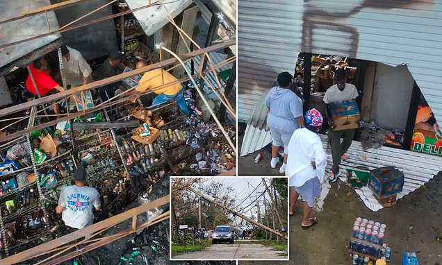 Looting ensues in New Orleans after Hurricane Ida cuts power to one million homes