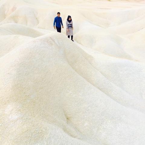 gurun pasir bintan, kepulauan riau, pasangan hits