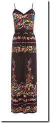 Oasis stretch waist maxi dress