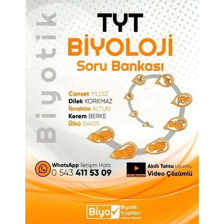 Biyotik Yayıncılık TYT Biyoloji Soru Bankası 2021