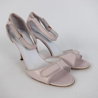 Manolo Blahnik Light Pink Sandals