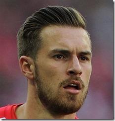 Soccer Player Haircut Aaron Ramsey