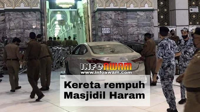 Kereta rempuh Masjidil Haram