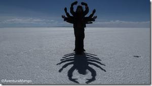 O escorpião - Salar de Uyuni
