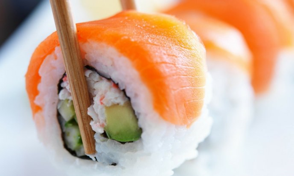 Sushi japonés en el anime